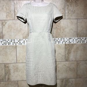 Alex Marie Tan textured classic dress with pockets